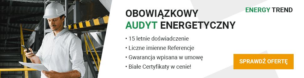 Obowiązkowy Audyt Energetyczny Przedsiębiorstwa 2021